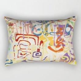 Shamanic Painting 06 Rectangular Pillow