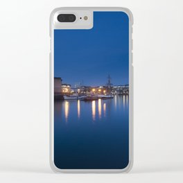 Night Docks Clear iPhone Case