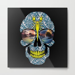 DEAD SKULL  Metal Print