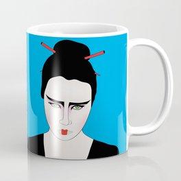 Grumpy Geisha // Japanese Style Coffee Mug