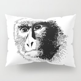 The Monkey! Pillow Sham
