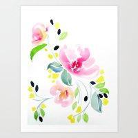 Spring Swing  Art Print
