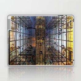 Rain in a City Laptop & iPad Skin