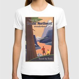 Vintage poster - Pacific Northwest T-shirt