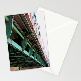 The Ferry Street Bridge Eugene Oregon.  Stationery Cards