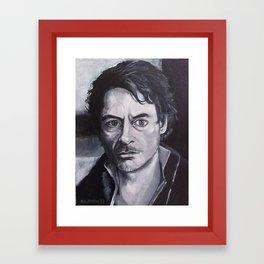 R.D.Junior Framed Art Print