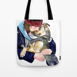 Humanity is love Tote Bag