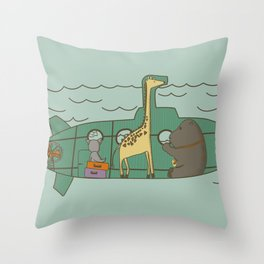 Vacations II Throw Pillow