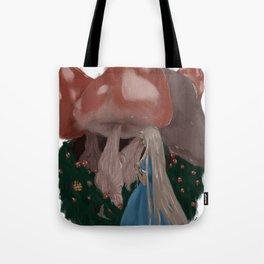 Mice and Mushrooms Tote Bag