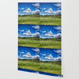 Idyllic rural view Wallpaper