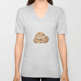 chocolate chips cookies Unisex V-Neck