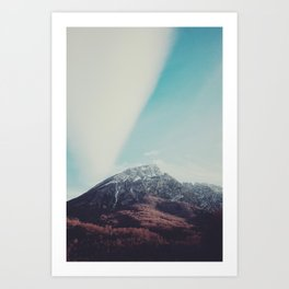 Mountains in the background XIII Art Print