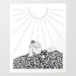 Sending Mixed Messages Art Print