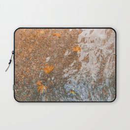 Water and foil Laptop Sleeve