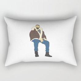 Drake Views Rectangular Pillow