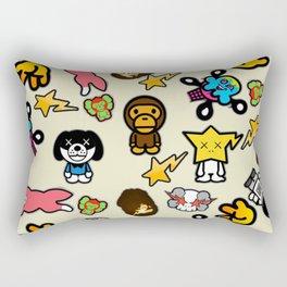 Bathing Ape Rectangular Pillow