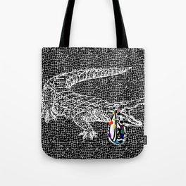 Crocodile Tears Tote Bag