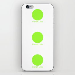 French Lime iPhone Skin
