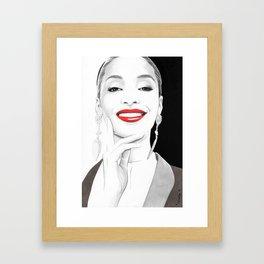 """""""Jourdan"""" Framed Art Print"""
