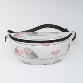Owls in ♥ Fanny Pack