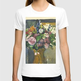 "Paul Cezanne ""Flowers in a red vase"" T-shirt"
