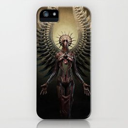 And You Shall See the Shades which She Becomes (detail) iPhone Case