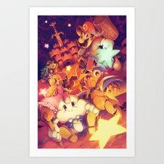 Super Mario RPG Art Print