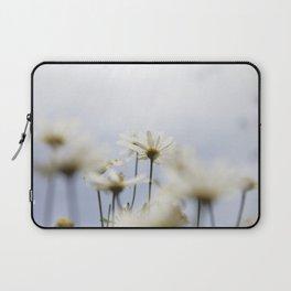 Flors blanques Laptop Sleeve