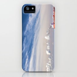 Take Red Ship to Your Love iPhone Case