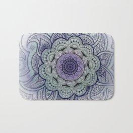 Mandala Violet Bath Mat