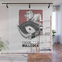 UGA Print Wall Mural