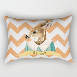 MS. FAWN Rectangular Pillow