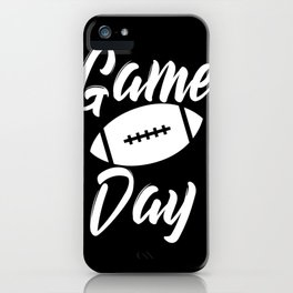 Game Day Football iPhone Case