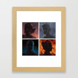 We Are No One: Polyptych Framed Art Print