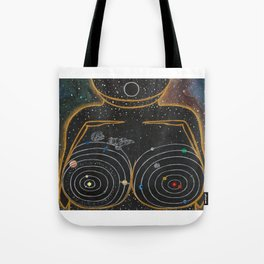 Dreams of Trappist-1 (Past the Outer Rings) Tote Bag