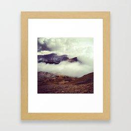 Heaven: Trail Ridge Road Colorado Framed Art Print