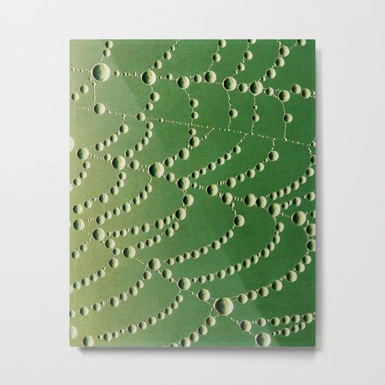 string of beads Metal Print