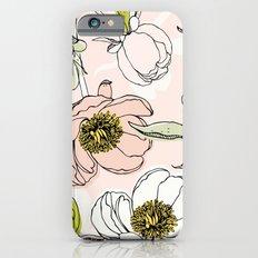 Peonies I Slim Case iPhone 6s