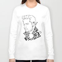 liam payne Long Sleeve T-shirts featuring Typographic Liam by Ashley R. Guillory