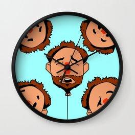 Balloon Heads Wall Clock