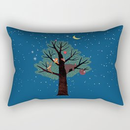 Wonderful night Rectangular Pillow