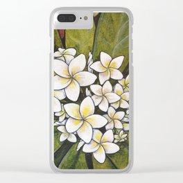Tropical Calm Clear iPhone Case