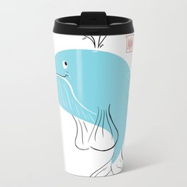 Whale of a time Metal Travel Mug