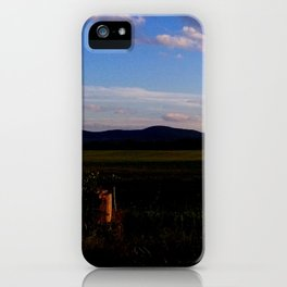 A Touch of Sunset iPhone Case
