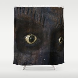 Mexican Mask Shower Curtain