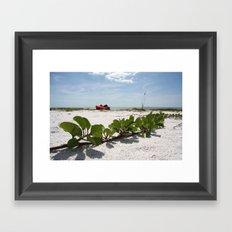 Destination: Relax  Framed Art Print