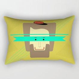 current superhero Rectangular Pillow