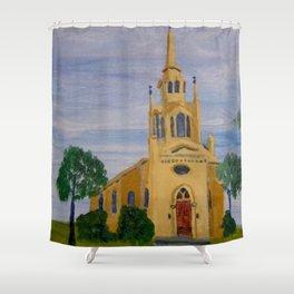 Episcopal Church, Holly Springs, MS Shower Curtain