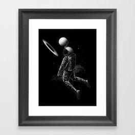 Saturn Dunk Framed Art Print