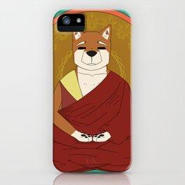 Dalai-Shiba iPhone Case